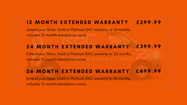 RAC Warranty Upgrade